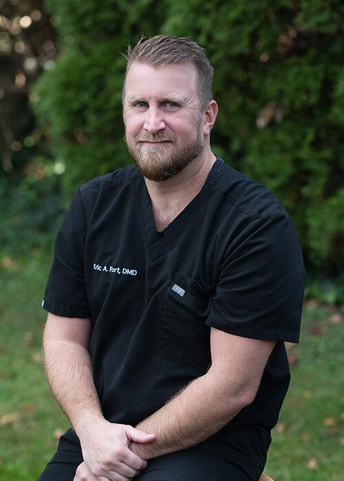 Portrait of Dr. Eric Fort, DMD
