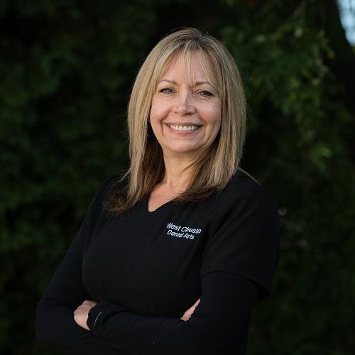 Portrait of Marie, a patient care coordinator
